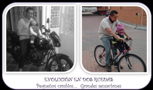 evolucion en dos ruedas